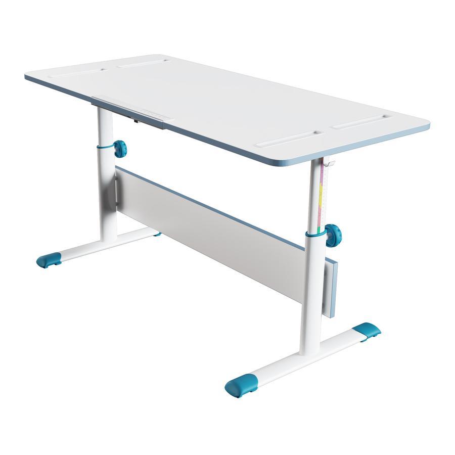 Polini Kids pöytä City D2, valkoinen-sininen