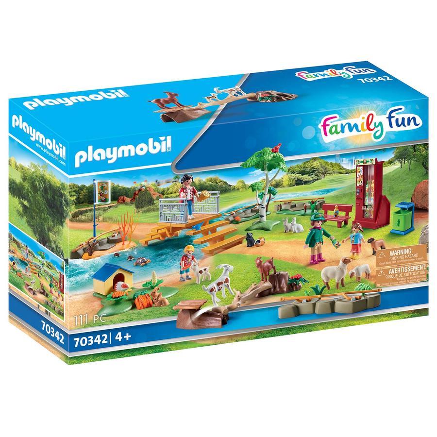 PLAYMOBIL® Family Fun Erlebnis-Streichelzoo 70342