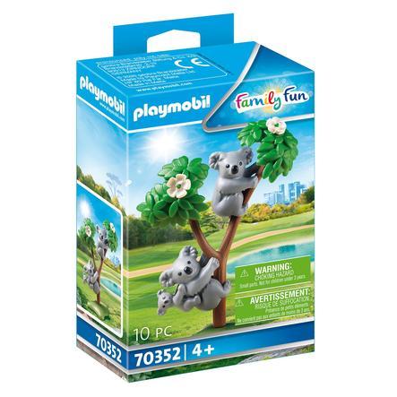PLAYMOBIL® Family Fun Figurine couple de koalas et bébé 70352