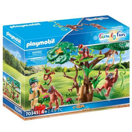 PLAYMOBIL ® Family Fun Orang Utans i træ 70345