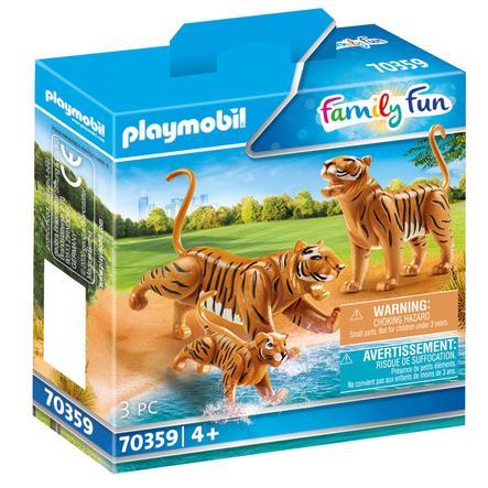 PLAYMOBIL  Diversión familiar 2 Tiger con el bebé 70359