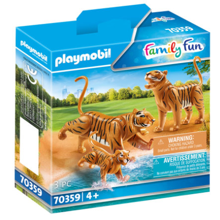 PLAYMOBIL ® Family Fun 2 Tiger med baby 70359
