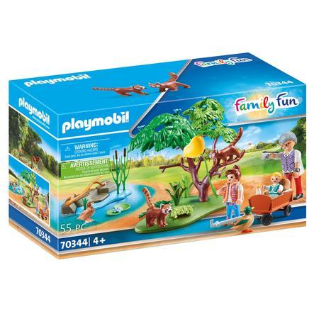 PLAYMOBIL  ® Family Fun Kleine panda's in de buitenbehuizing 70344