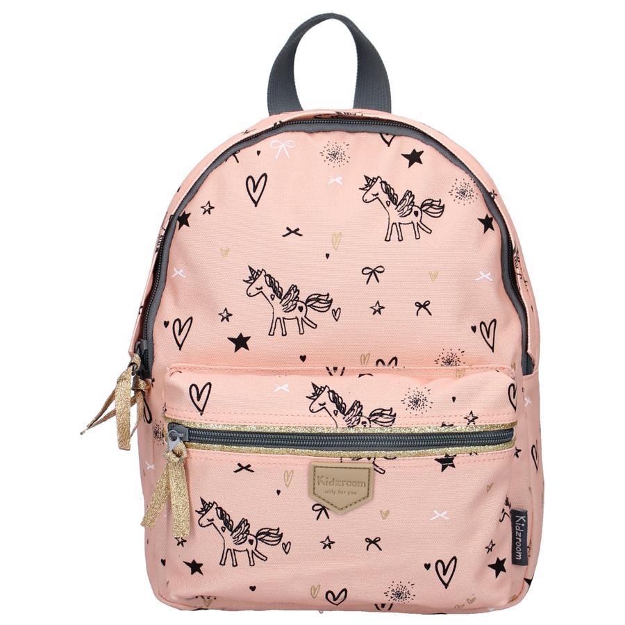 Kidzroom ryggsäck orädd rosa