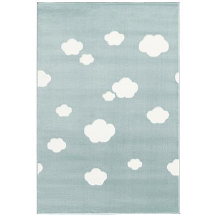 LIVONE Spiel- und Kinderteppich Happy Rugs - Sky Cloud mint/weiss, 120 x 180 cm