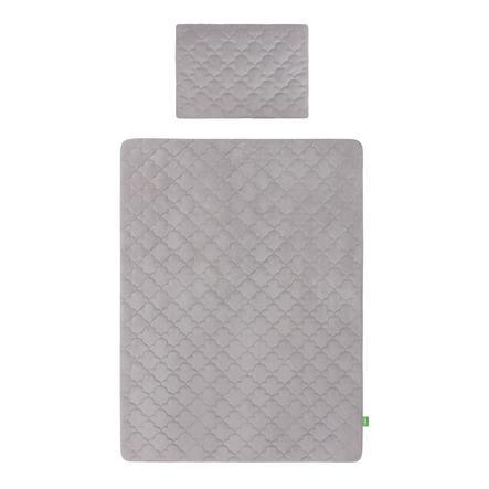 Lulando Art Collection Sengesett Velvet Grey 100x80 cm