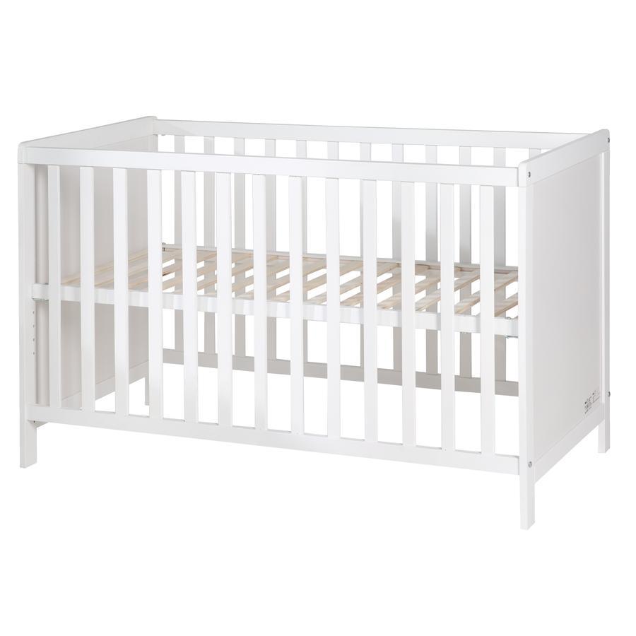 roba Lit bébé cododo blanc 60x120 cm