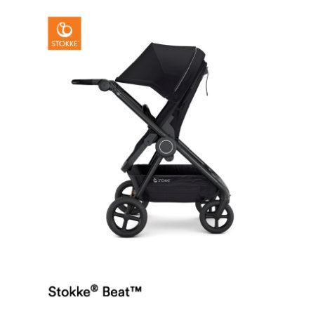 Stokke® Kinderwagen Beat™ Black