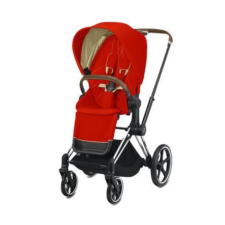 cybex PLATINUM Kinderwagen ePriam Chrome inklusive Seat Pack in Autumn Gold