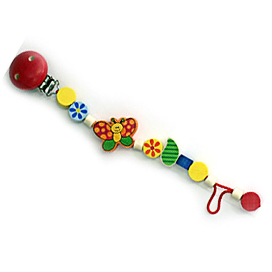 HESS Soother Chain Butterflies