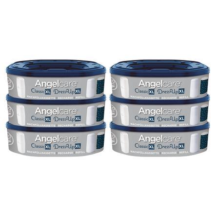 Angelcare® Nachfüllkassetten Dress-Up 6er- Pack für 1080 Windeln