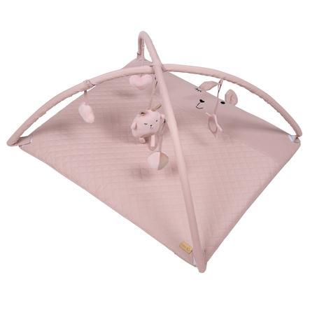 roba Deka pro batolata s hrací mašlí Lily Style růžová