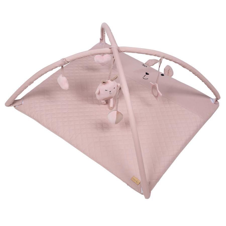 roba Kruipende deken met speelvel Lelie Style roze