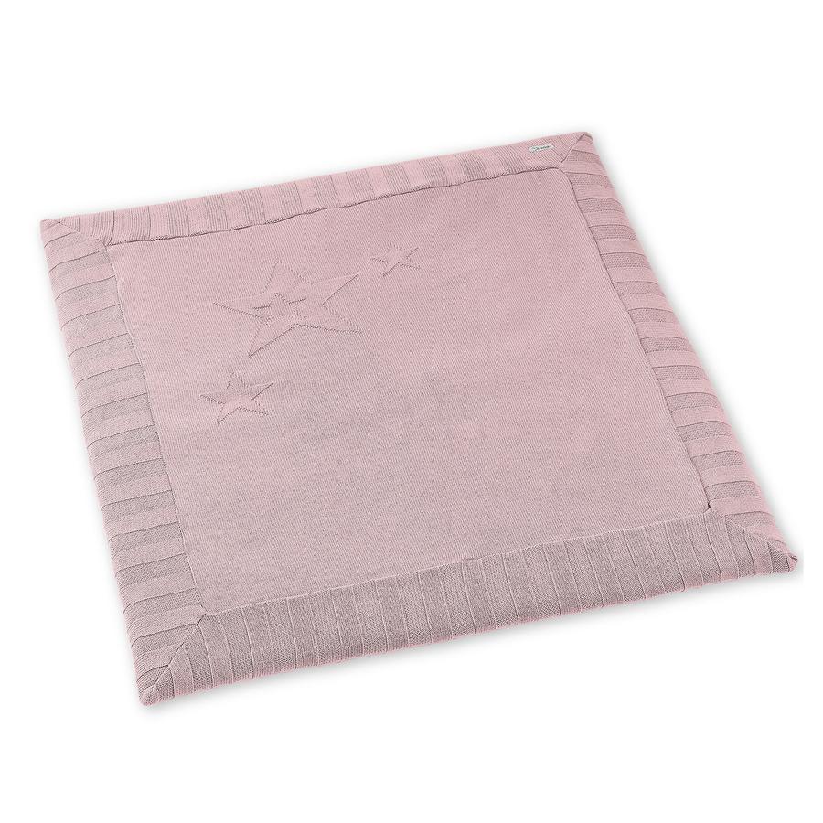 Sterntaler Strikket krypende teppe rosa 100x100cm