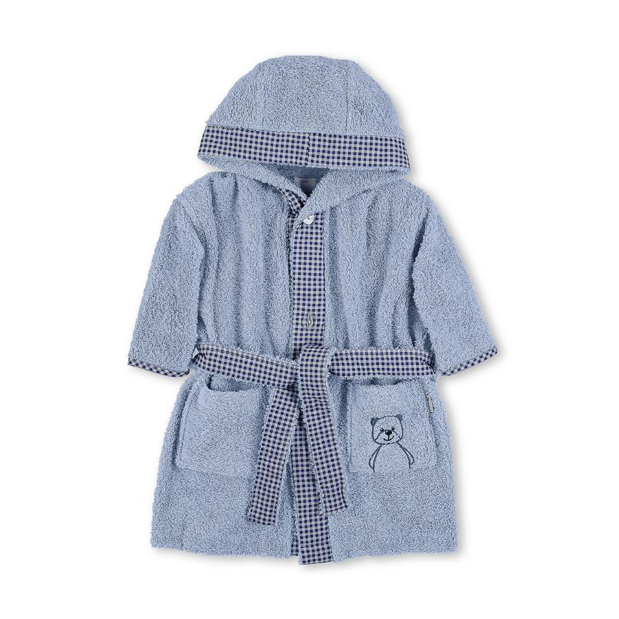 Sterntaler Peignoir de bain enfant ours Baylee bleu
