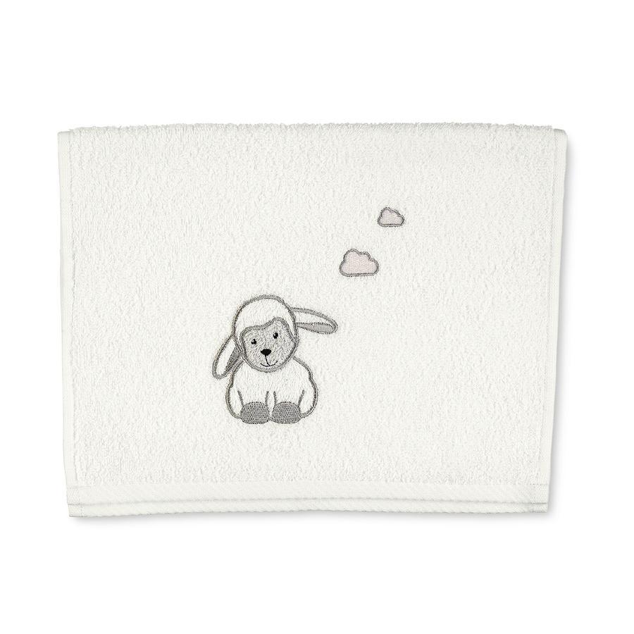 Dětský ručník Sterntaler Stanley ecru 50 cm x 30 cm