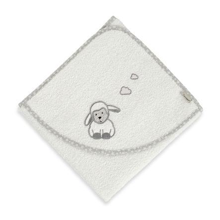 Sterntaler Asciugamano da bagno con cappuccio Stanley ecru 80 x 80 cm