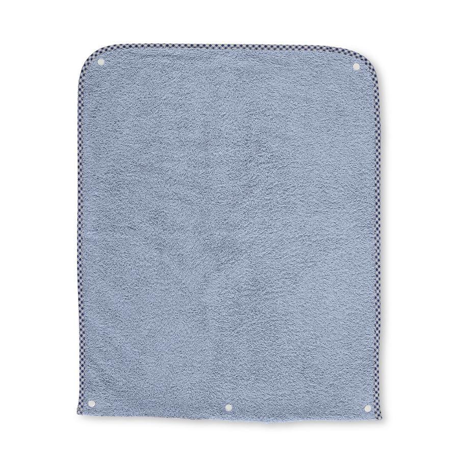 Sterntaler Okładka z frotte w kolorze niebieskim Baylee