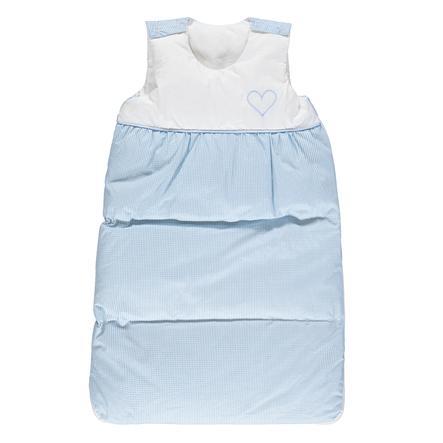 LITTLE Gigoteuse bébé duvet bleu 70 cm