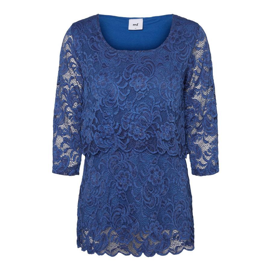 mamma läcker MLMIVANA Mazarine Blue ammande tröja