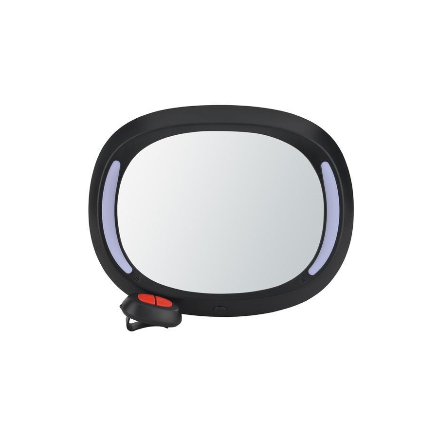 Altabebe Miroir bébé voiture LED noir