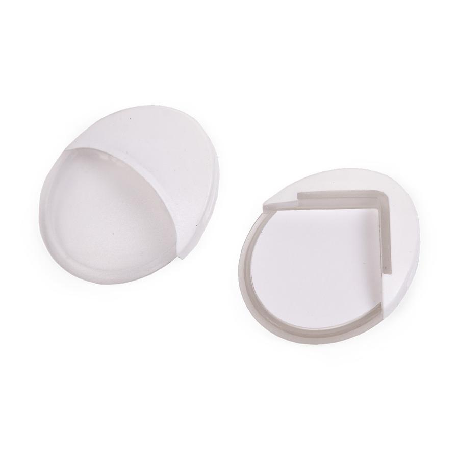 CHILDHOME Basic hoekbeschermer 4 stuks wit