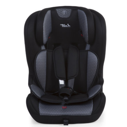CHILDHOME Child Isofix setestørrelse 1/2/3 grå antracitt