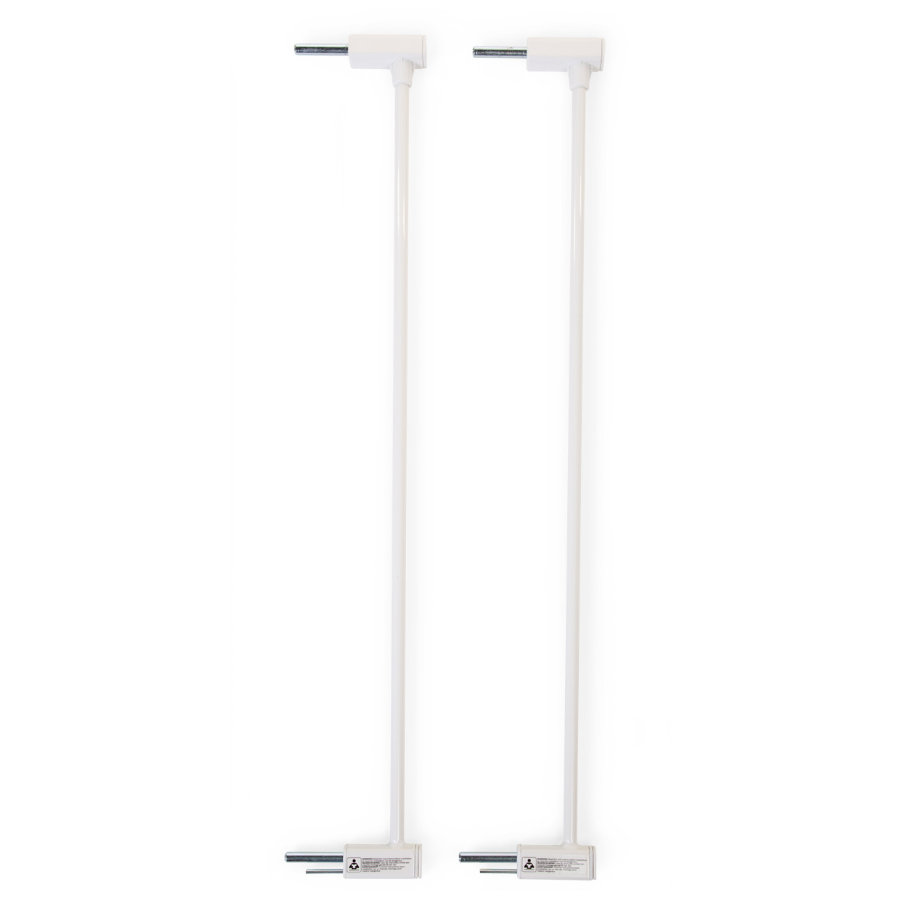CHILDHOME Verlängerungselement für Tür- und Treppengitter für Eltra und Tundra Weiß