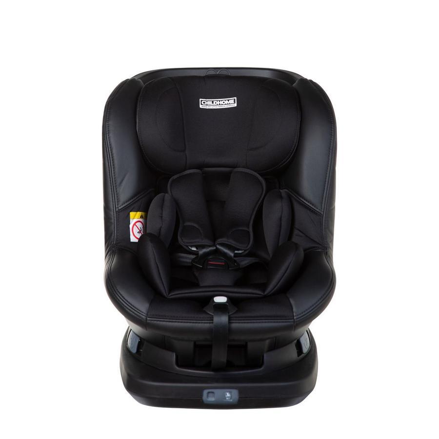 CHILDHOME Isomax 360 ° Autostol Isofix Gr. 0/1 sort
