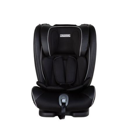 CHILDHOME Isokid Autostoel Gr. 1/2/3 Isofix zwart