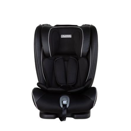 CHILDHOME Isokid bilstol størrelse 1/2/3 Isofix svart
