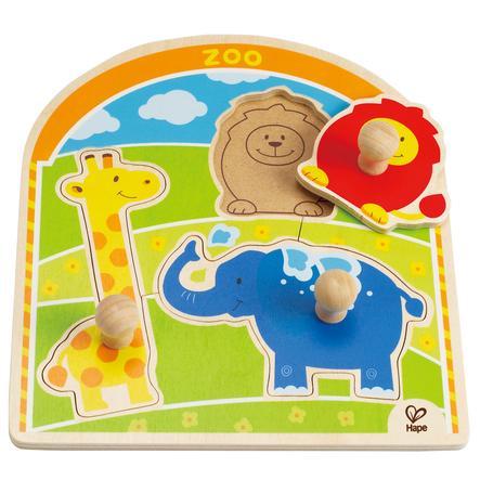 HAPE Puzzle con bottoni Allo Zoo