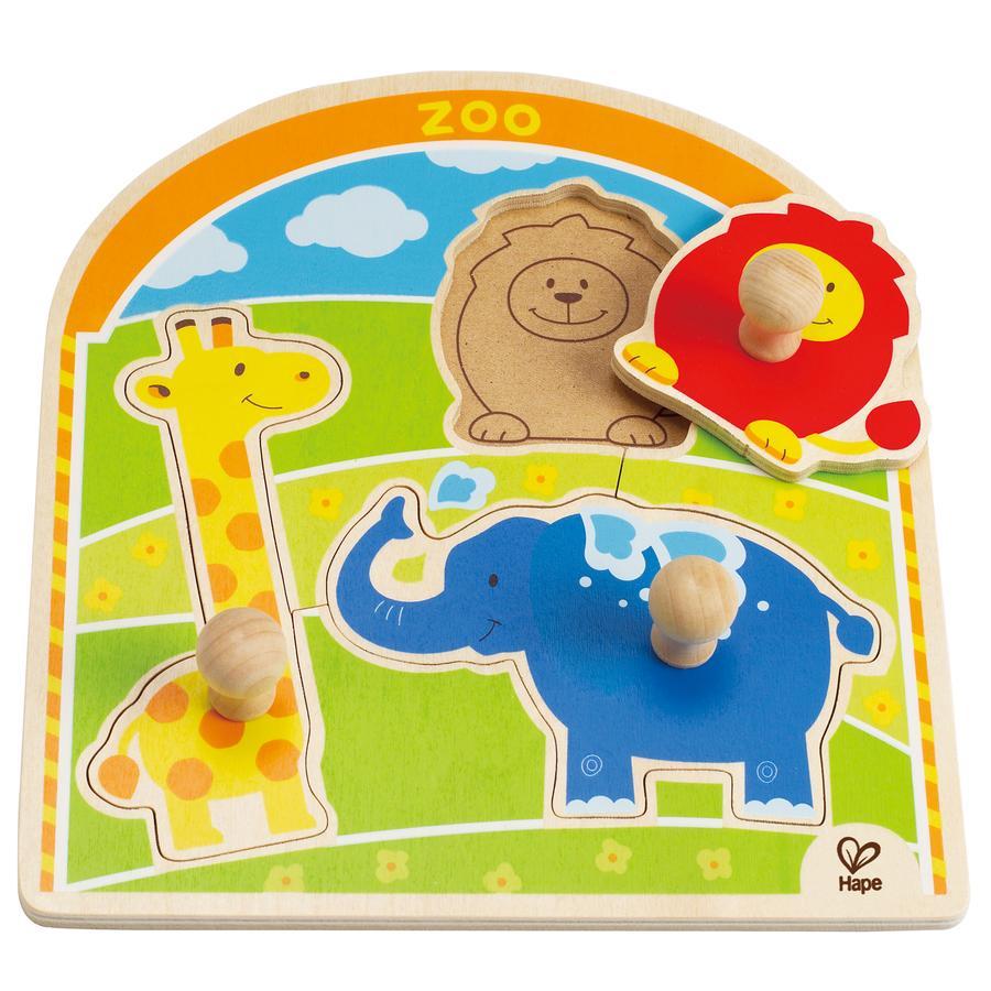 HAPE Knopfpuzzle Im Zoo