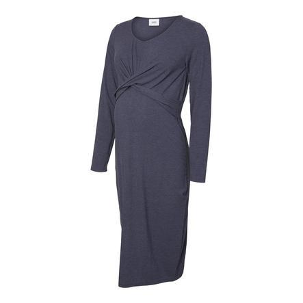 mama  legální mateřské šaty MLSELENA Navy Blazer