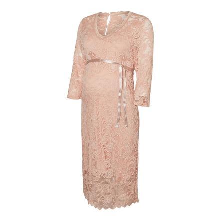 mamma läcker moderskapsklänning MLMIVANA Silver Pink