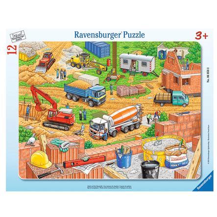 Ravensburger Puzzle à cadre - travail sur le chantier de construction