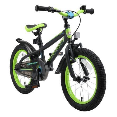 """bikestar Barncykel 16"""" Mountain svart/gul"""