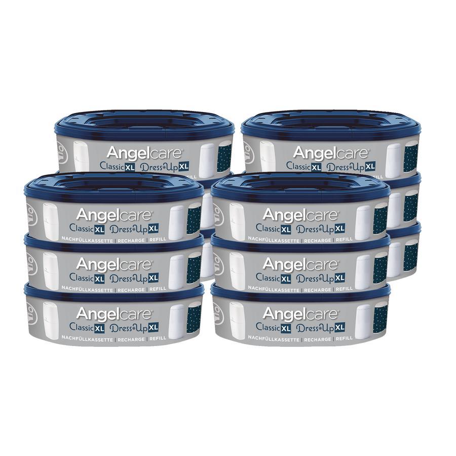 Angelcare® påfyllingskassetter Dress-Up 12-pakning for 2160 bleier