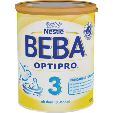 Nestlé BEBA OPTIPRO 3 Folgemilch 800 g ab dem 10. Monat