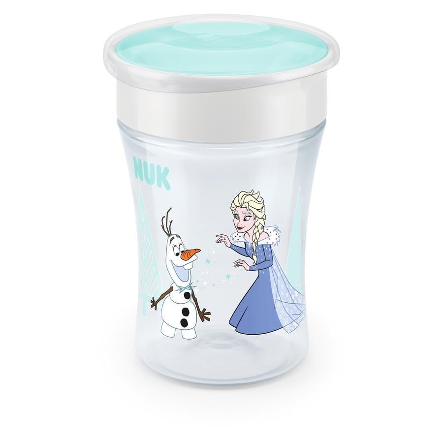 NUK Trinklernbecher Evolution Magic Cup ab dem 8. Monat Motiv: Frozen Prinzessin Elsa