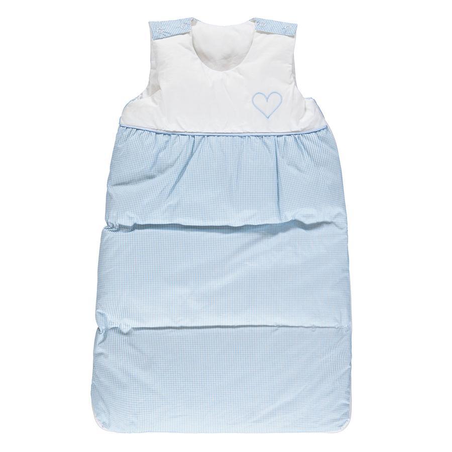 LITTLE Gigoteuse bébé duvet bleu 90 cm