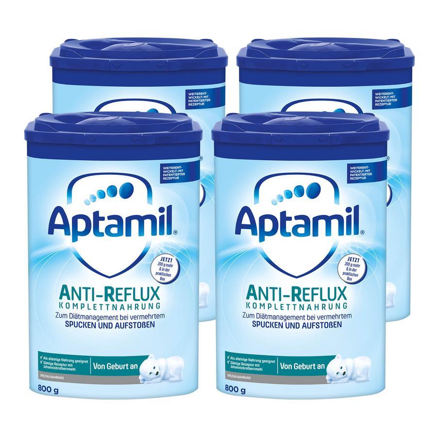 Aptamil Komplettnahrung Anti-Reflux 4 x 800 g ab der Geburt