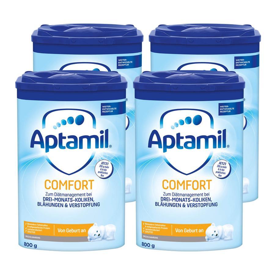 Aptamil Spezialnahrung Comfort 4 x 800 g ab der Geburt