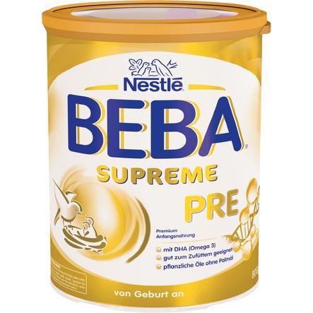 Nestlé Anfangsnahrung BEBA SUPREME Pre 800 g ab der Geburt
