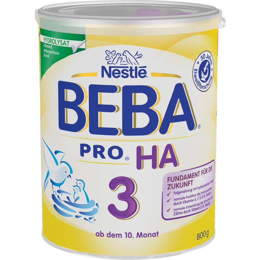 Nestlé BEBA PRO HA 3 Folgenahrung 800 g ab dem 10. Monat