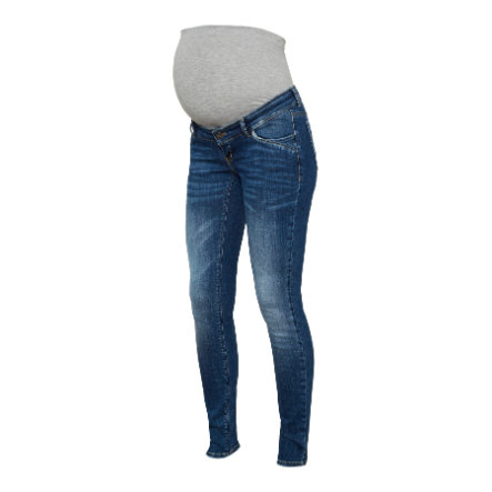 mamma  ondskapsfulle moderskapsjeans MLSAVANNA Medium Blue Denim