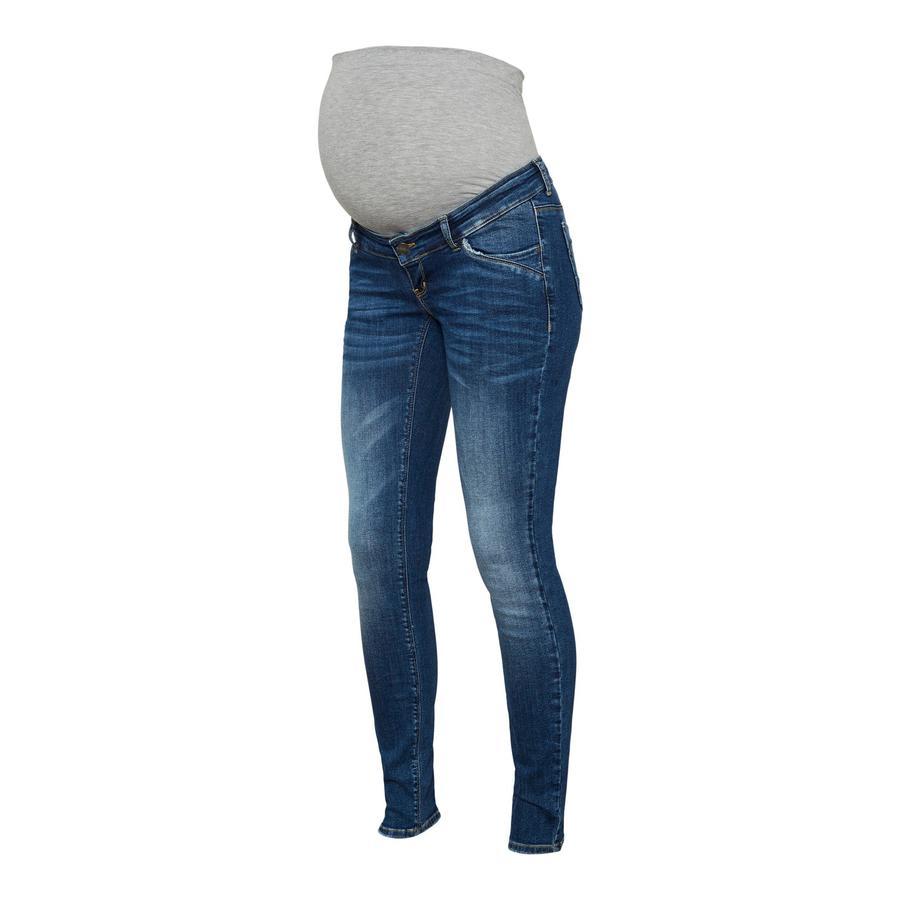 mama  legitious Maternity jeans MLSAVANNA Medium Blue Denim
