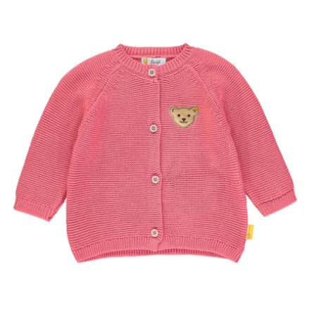 Steiff Girls Strickjacke, fruit dove