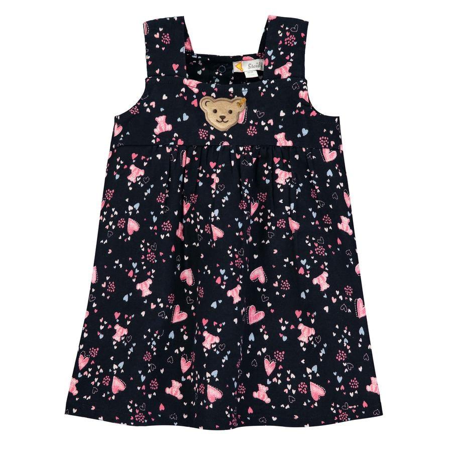 Steiff Girls Dress, svart iris