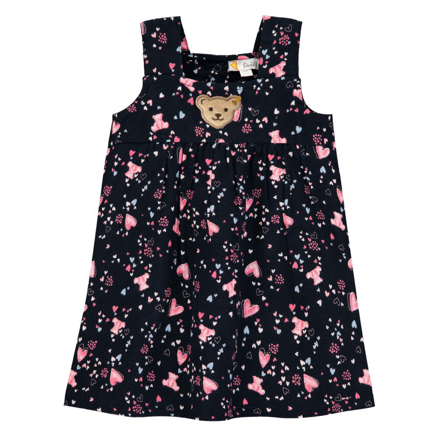 Steiff Girls Kleid, black iris